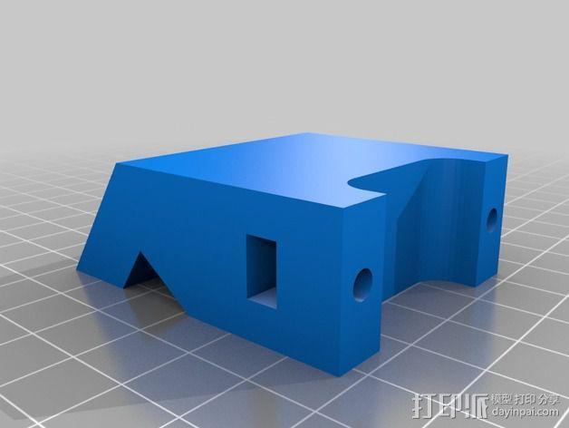 打印机控制器液晶显示器支架 3D模型  图4