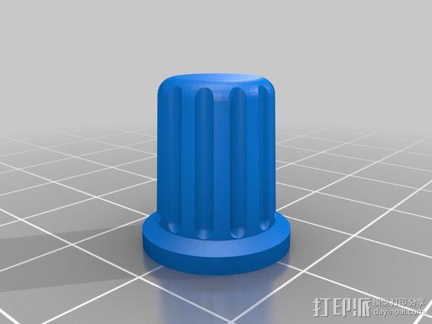 打印机控制器液晶显示器支架 3D模型  图6