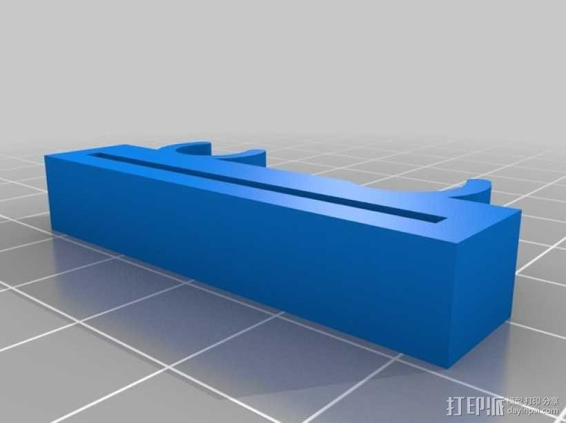 Prusa i3打印机Y轴限位开关支架 3D模型  图2
