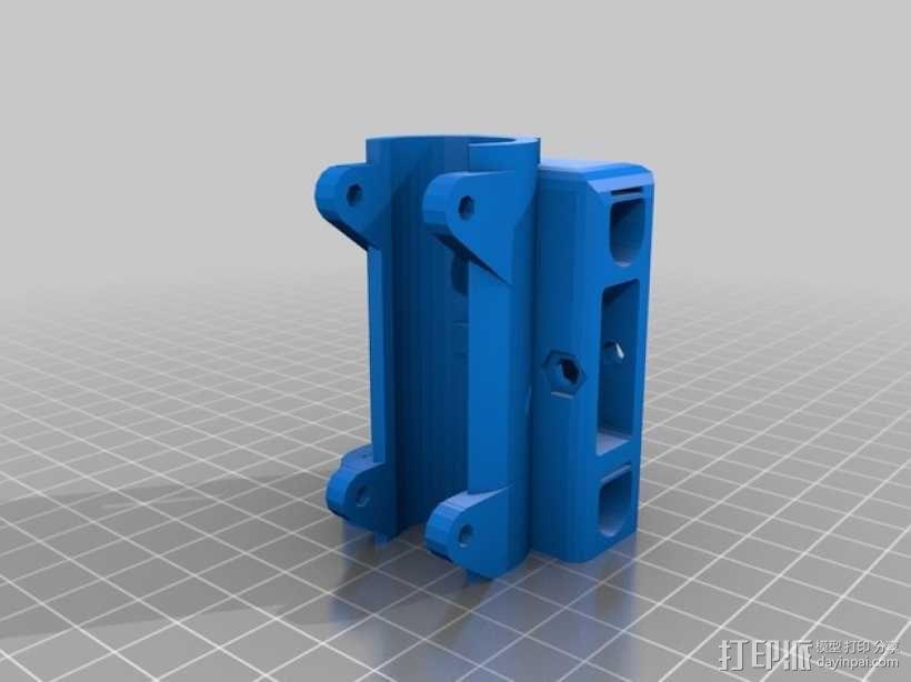 螺杆固定器 3D模型  图5