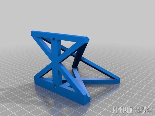 Printrbot Simple 打印机稳定器 3D模型  图4