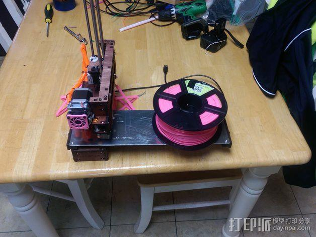 Printrbot Simple 打印机稳定器 3D模型  图2