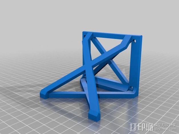 Printrbot Simple 打印机稳定器 3D模型  图3