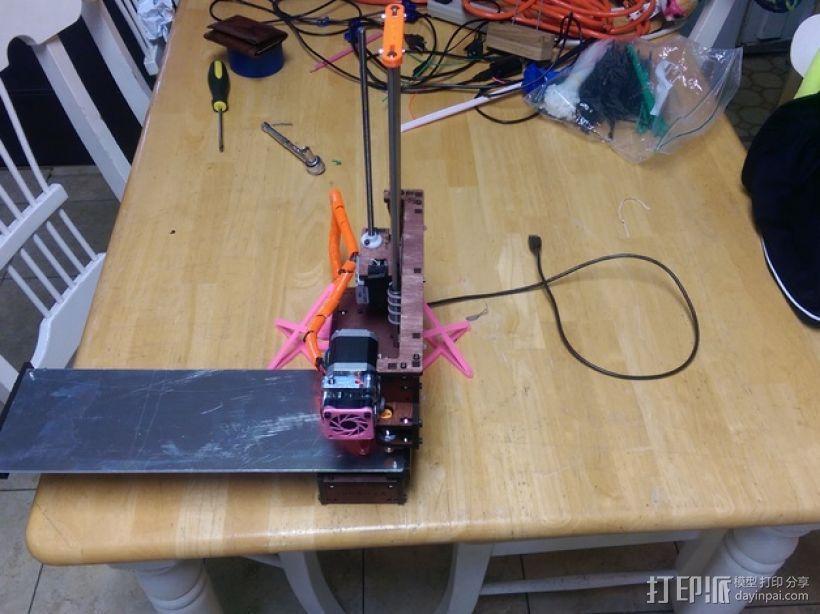 Printrbot Simple 打印机稳定器 3D模型  图1