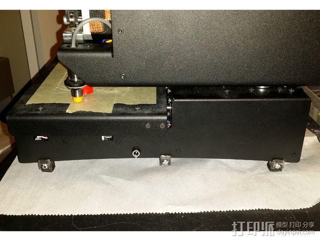 Printrbot Simple 打印机底部保护罩 3D模型  图2