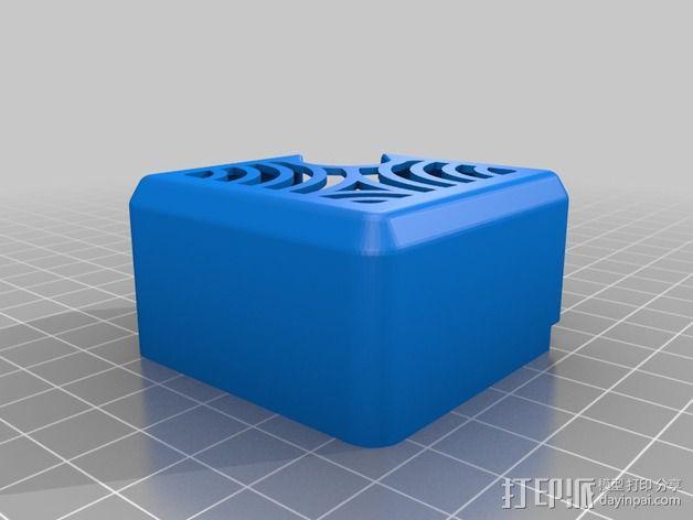 挤出机罩 3D模型  图4