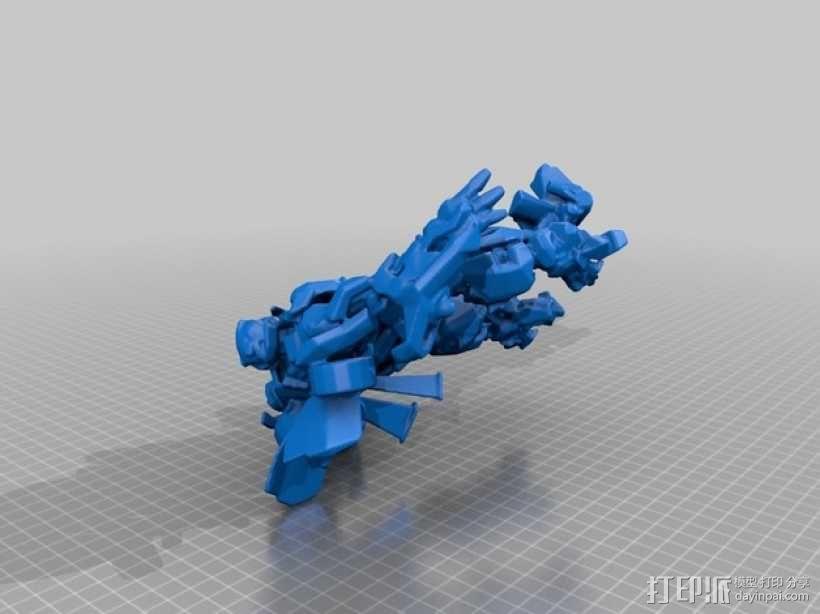 大黄蜂 3D模型  图1