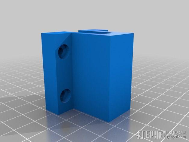Prusa i3打印机底板支架 3D模型  图5