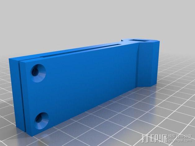 Prusa i3 打印机线轴架 3D模型  图4
