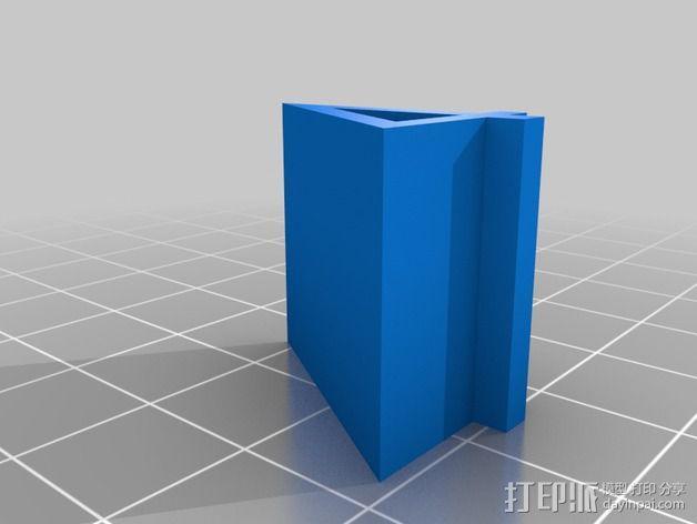 线轴支架 卷线器 3D模型  图5