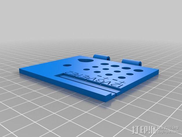 线轴支架 卷线器 3D模型  图6