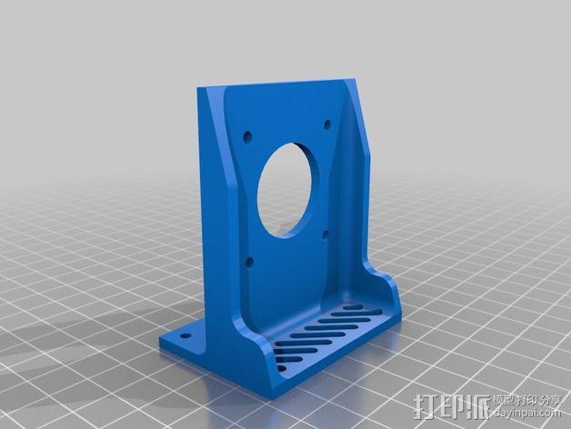 线轴支架 卷线器 3D模型  图8