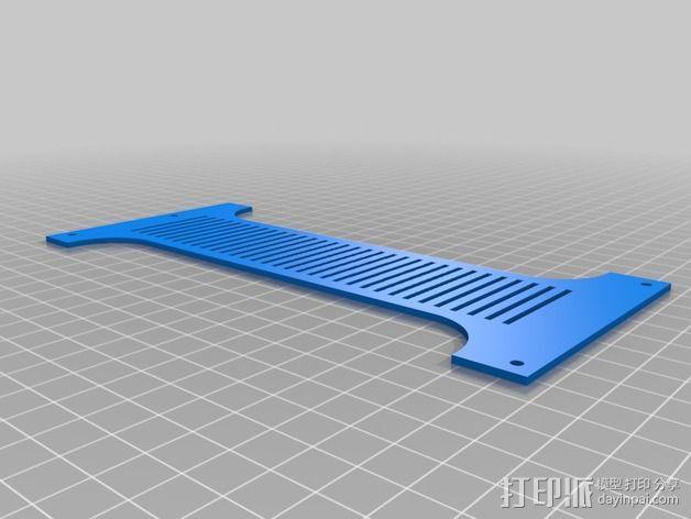 线轴支架 卷线器 3D模型  图9