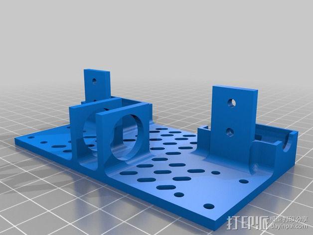 线轴支架 卷线器 3D模型  图10