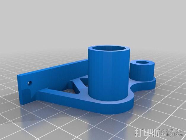 线轴支架 卷线器 3D模型  图12