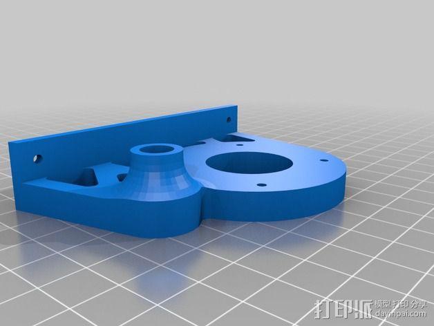 线轴支架 卷线器 3D模型  图11