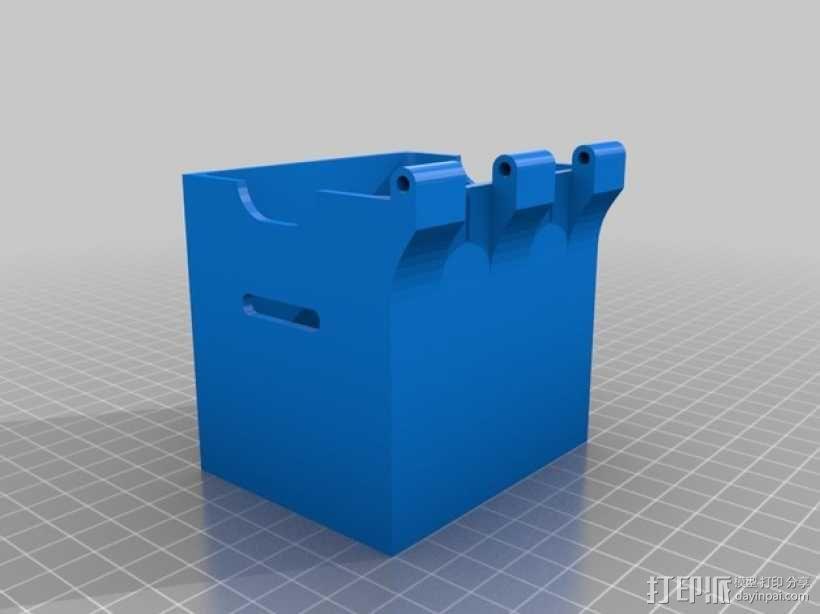 线轴支架 卷线器 3D模型  图13