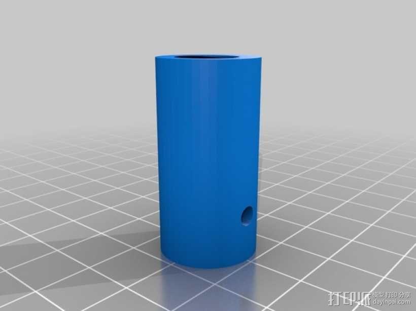 线轴支架 卷线器 3D模型  图14