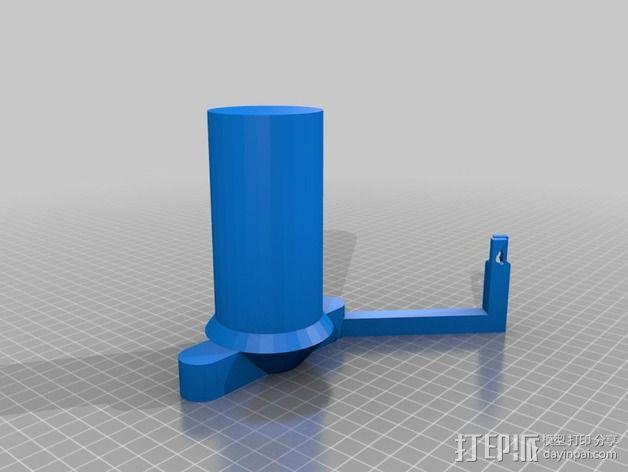Smartrap 打印机的线轴支架 3D模型  图1