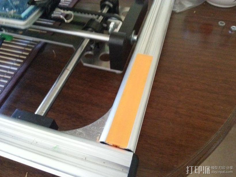 K8200 打印机外框轮廓罩 3D模型  图2
