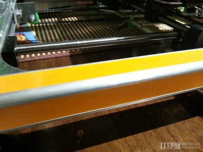 K8200 打印机外框轮廓罩 3D模型  图1