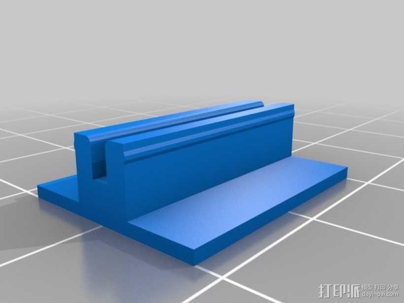 K8200 打印机外框轮廓罩 3D模型  图3