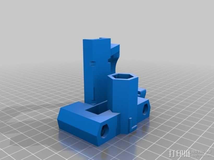 自制Prusa IT2打印机 3D模型  图3