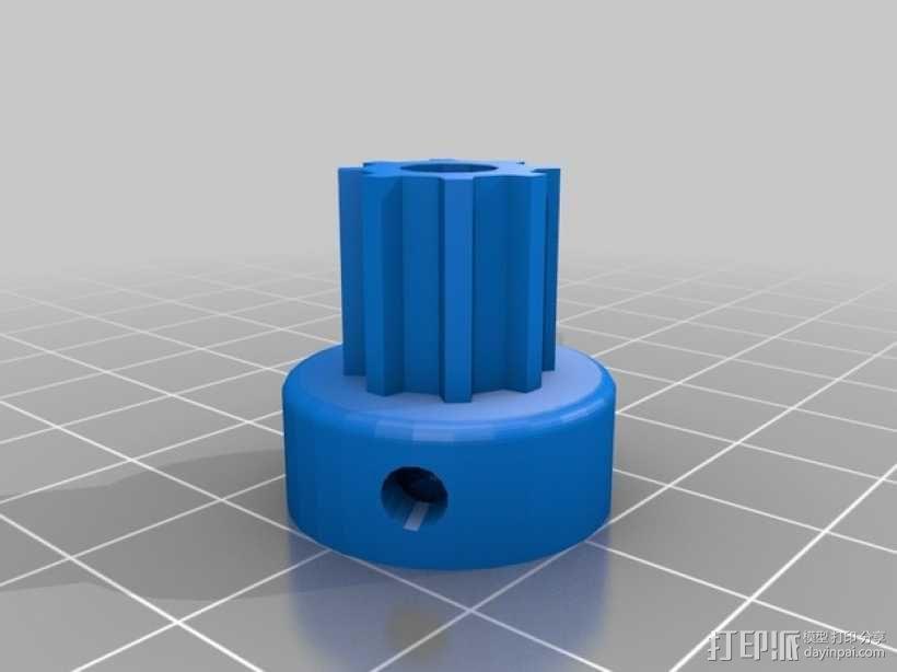 自制Prusa IT2打印机 3D模型  图6