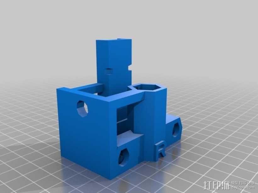 自制Prusa IT2打印机 3D模型  图13