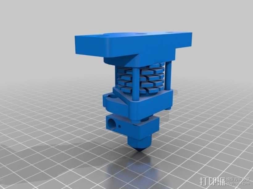 自制Prusa IT2打印机 3D模型  图15