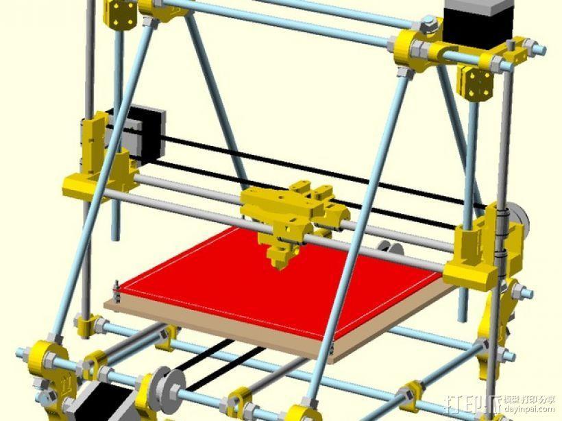 自制Prusa IT2打印机 3D模型  图18