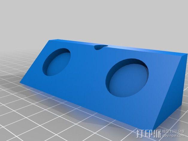 Delta式3D打印机 3D模型  图5