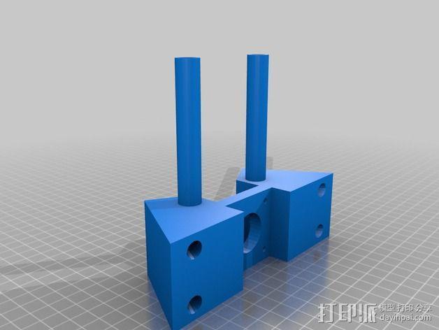 Delta式3D打印机 3D模型  图6
