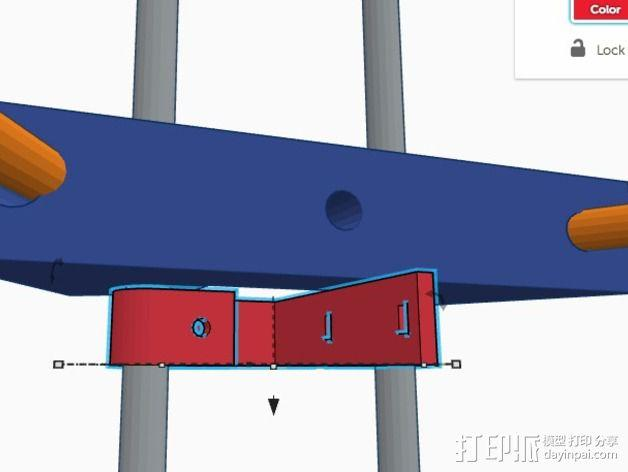 Delta式3D打印机 3D模型  图9