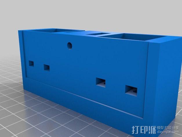 Delta式3D打印机 3D模型  图8