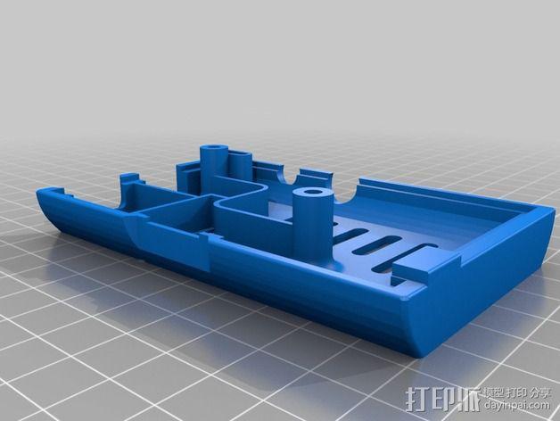 Raspberry Pi树莓派电路板外壳和支架 3D模型  图2