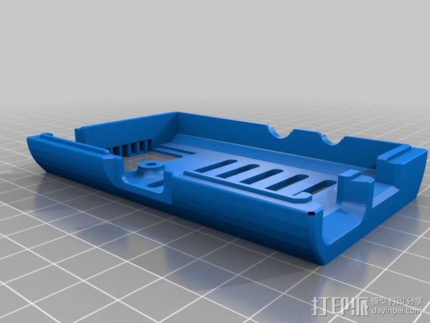 Raspberry Pi树莓派电路板外壳和支架 3D模型  图6