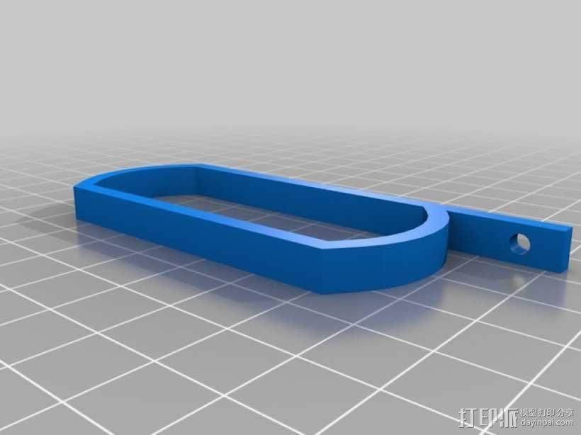 Raspberry Pi树莓派电路板外壳和支架 3D模型  图8