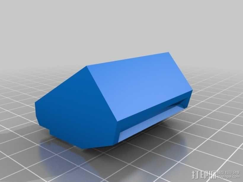 Afinia H-Series H479挤出机模型 带风扇 3D模型  图5