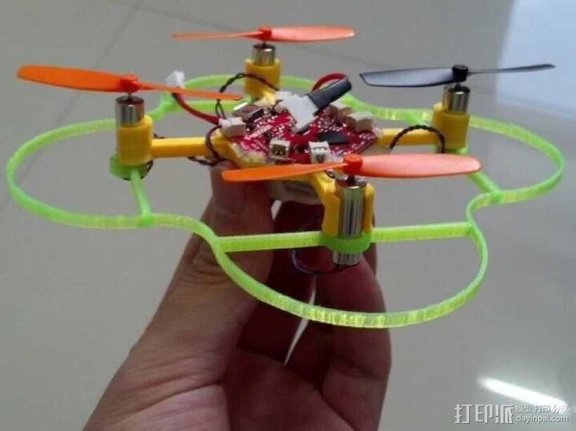 FlexBot四轴飞行器 3D模型  图1