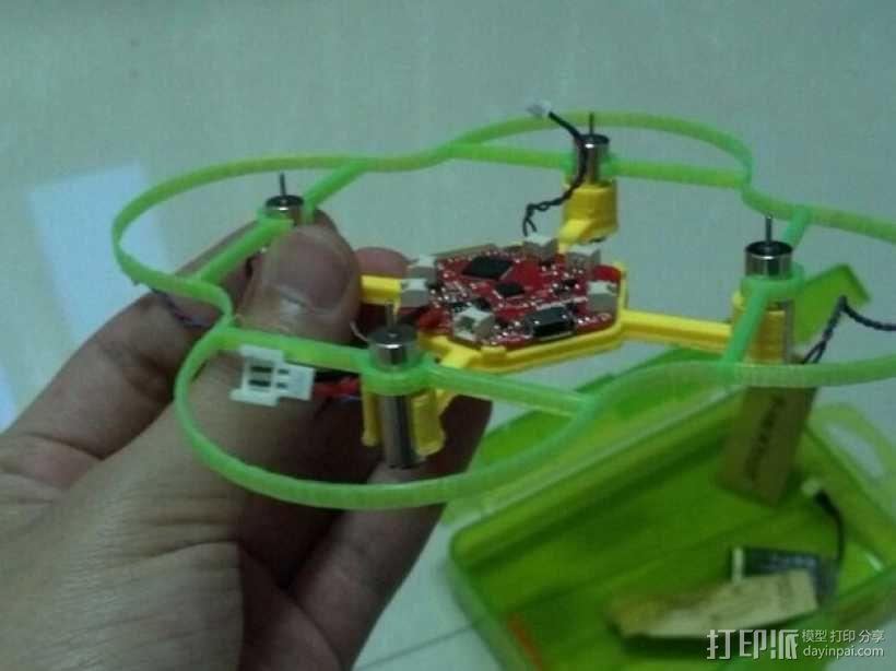 FlexBot四轴飞行器 3D模型  图4