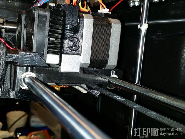 风扇通风导管支架 3D模型  图5