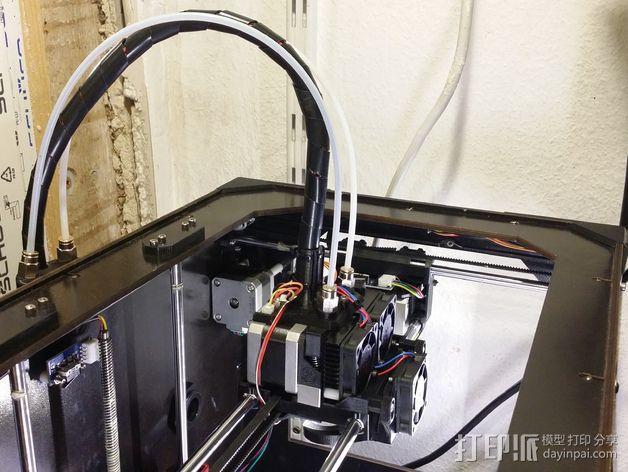 风扇通风导管支架 3D模型  图7