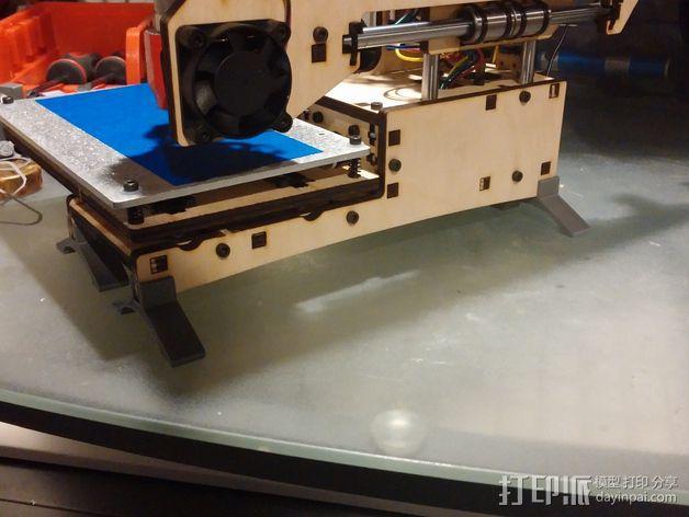 Printrbot Simple 打印机底部稳定器 3D模型  图6