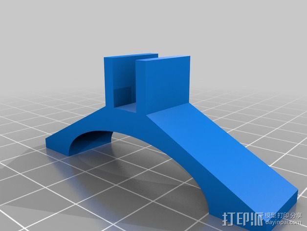 Printrbot Simple 打印机底部稳定器 3D模型  图4