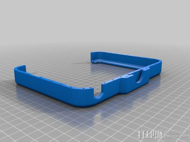 3D扫描仪旋转支架 3D模型  图9