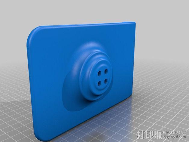 3D扫描仪旋转支架 3D模型  图11