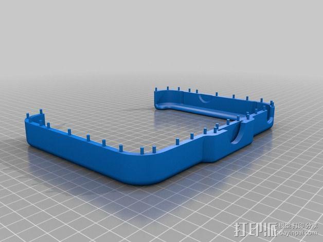 3D扫描仪旋转支架 3D模型  图12