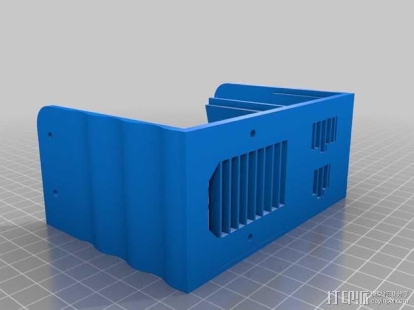 电源保护罩 3D模型  图2