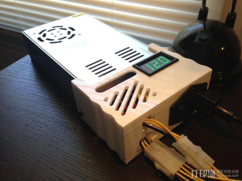 电源保护罩 3D模型  图1